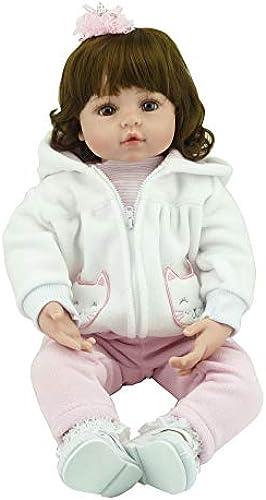 CYdoll 24 Reborn Baby Rebirth Puppe Kinder Geschenk Alle Silica Gel mädchen