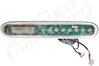 Dimension One Spas Hot Tub Upper Control Panel Display 01580-0001 Easy to Read Display for All D1 Reflections and Bay Series Spas