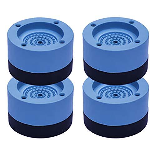 4PCS Waschmaschinenfüße Geräuschreduzierung und rutschfest Gummifußpolster Antivibrationsmatte erhöht Fußpolster für Kühlschrank Machine Foot Pad Anti Vibration Anti-Slip Rubber for Machines Dryers