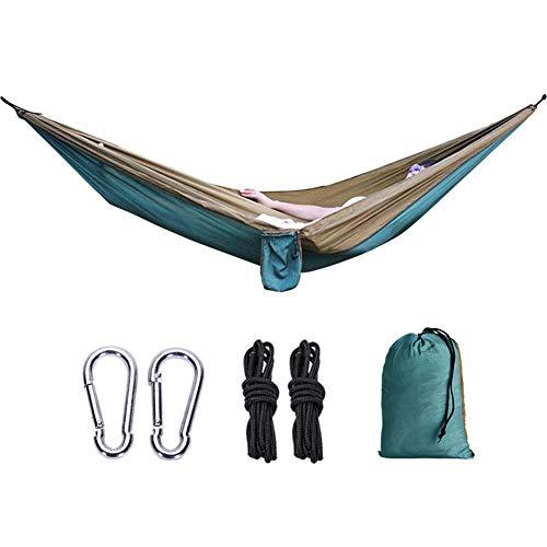 Enkele Camping Hangmat, Kamp Lichtgewicht Draagbare Hangmat, Hangmat Tent Swing voor Slapen, Backpacking, Buiten, Strand, Wandelen