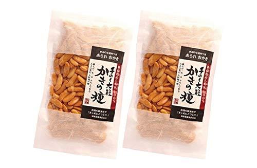 無添加せんべい 加藤製菓 大粒かきの種 120g×2袋セット★ レターパック青 ★新潟県産契約栽培もち米を100%使用した、米の味がしっかりした大粒の柿の種です。