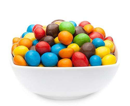 1 x 5kg Erdnuss mit bunter Vollmilchschokolade - Erdnüsse in Vollmilchschokolade und farbigem Zuckermantel vegetarisch