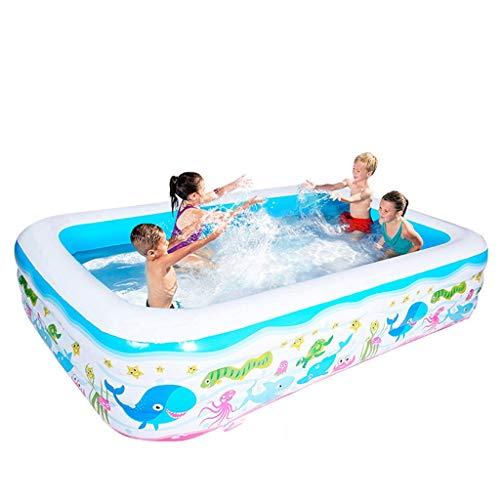 LMJ 2.6M Piscinas de niños Grandes Piscinas inflables Pantalla de Piscina Espesor Sreeational Pool para Familia al Aire Libre Bola del Océano Pelota Trasera (Color : A)