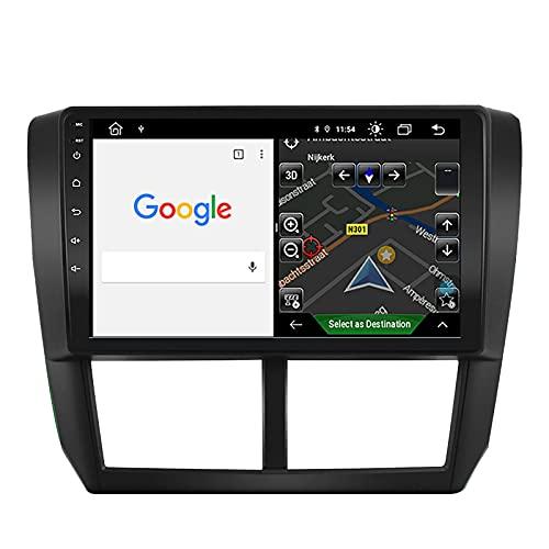 Car Radio for 2008-2012 Subaru Forester / 2008-2011 Impreza / 2008-2014 Impreza WRX STI Android 10.1 Stereo,2G RAM 32G ROM