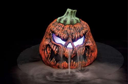 At Home Halloween Prop Decoration Evil Pumpkin Misting Fogger (ha)