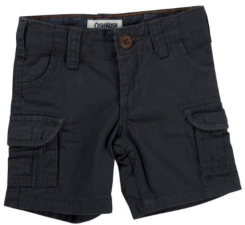 OshKosh B'Gosh Shorts Größe 74/80 Kurze Hose Junge USA Size 12 Month Sommer grau