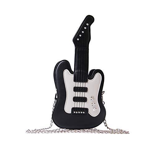 Guitar Music Shape Crossbody Bag