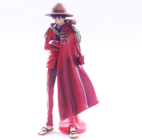 YLSP Exquisite Handmade Statue of A Toy Model Toy Model Cartoon Characters Collection/Souvenir/Luffy 25cm (Color : -, Size : -) image