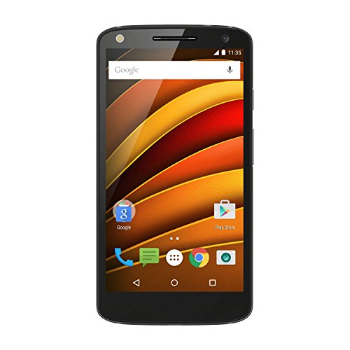 Motorola Moto X Force Smartphone (32 GB) con Nylon balistico indietro Nero
