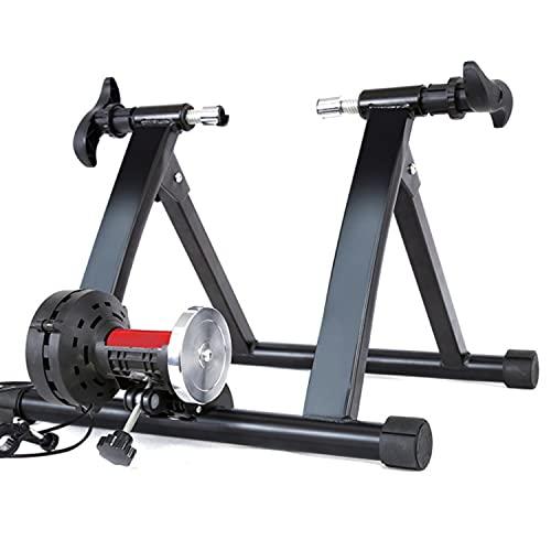 Entrenador de Bicicleta Rodillo Magnético para Bicicleta Plegable Portátil Estable y Portátil con Reducción de Ruido Unisexpara Ruedas de 700C 26' - 29'