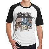 Photo de Men's Tee Shirts Glen Campbell#Glen Campbell- Greatest Hits Casual Short Sleeve T-Shirt Fashion Baseball Tee Shirts Tops Black L par