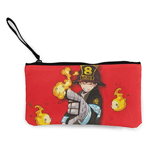 XCNGG Boys Canvas Coin Purse with Zipper Makeup Bag for Holiday Purse