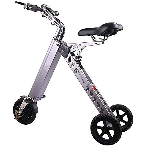 GBX Fahrrad, Elektrofahrrad, Tragbare Elektrofahrräder, 8 'Dreirad-Elektroauto 250W Motor 36V 7,2 Ah Lithiumbatterie-Klappauto, Intelligentes Elektrisches Wiederaufladbares Fahrrad Höchstgeschwindigk