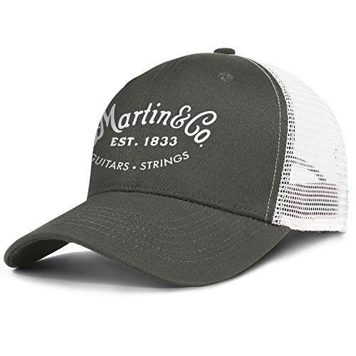 Mens Trucker Hats C. F. Martin Guitar United States Womens Best Baseball Caps Sports Styles Adjustable Fashion