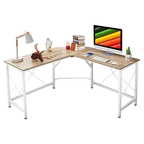 "Mr IRONSTONE L-Shaped Desk 59"" Computer Corner Desk, Home Gaming Desk, Office Writing Workstation, Space-Saving, Easy to Assemble"