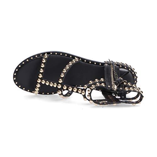 Ash Damenschuhe Black Power Flat Sandale SS2020, Schwarz - schwarz - Größe: 41 EU