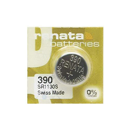 Renata MP-E 390 SR1130S - Pila para reloj (60% más de potencia, 1 unidad)