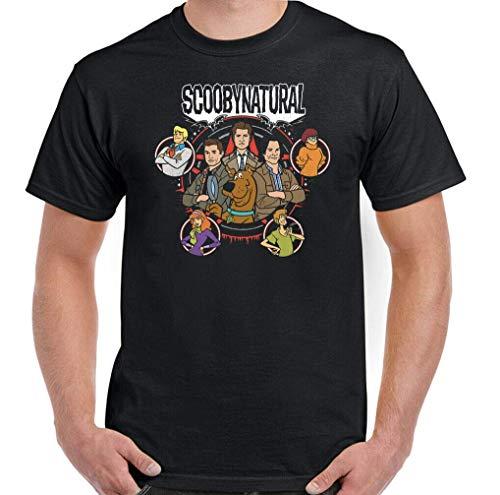 T-Shirt Camisetas y Tops Polos y Camisas Supernatural, Mens Funny Unisex Top Parody
