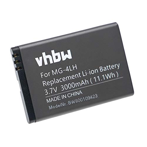 vhbw Li-Ion Akku 3000mAh (3.7V) für Navigationsystem Spectra MobileMapper 10, 20 wie 206465, MG-4LH, TS21878.