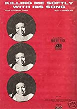 Sheet Music Killing Me Softly With His Song Roberta Flack 80