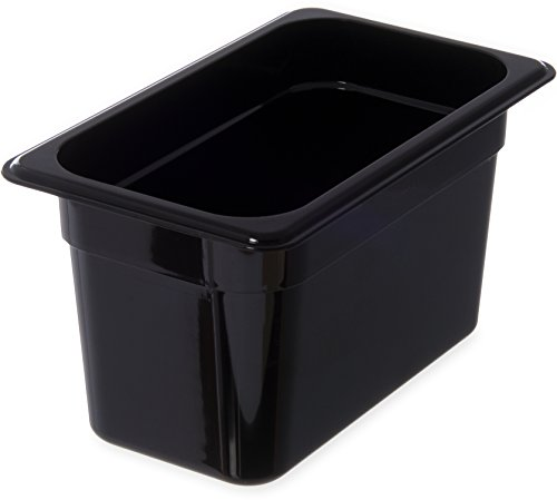 Review Of Carlisle 3088203 StorPlus High Heat Food Pan, 6 Deep, Quarter Size, Black, 1/4 Size (Pack...