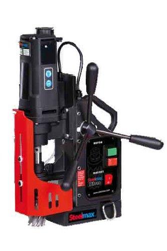 "Steelmax SM-D1 PRO Portable Magnetic Drill, 1-9/16"" Diameter x 2"" Depth of Cut (Maximums)"