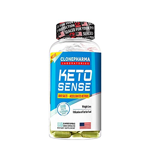 Keto Sense Clone Pharma 60 cápsulas