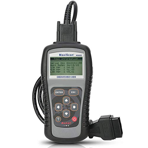 Autel MS609 Code Reader OBD2 Scanner Including Full OBDII Functions ABS Diagnostics(Upgraded Version...