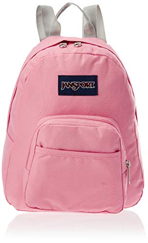 JANSPORT Half Pint Mini Backpack - Ideal Day Bag for Travel, Strawberry Pink