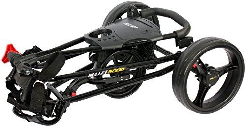 Golfwagen Bullet 5000 professional, klappbar mit mit leicht-Klick-System schwarz - 3
