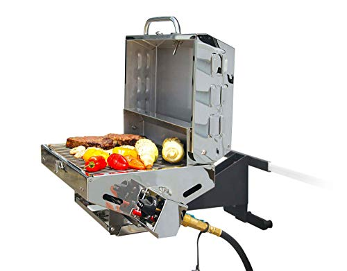 Camco 57305 Olympian 5500 Stainless Steel Portable/Rv Grill