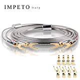 Impeto 6N OCC Speaker Cable,Convertible Banana Spade Gold Plated Connector (9.8ft/3M, 2 Pcs/Set)
