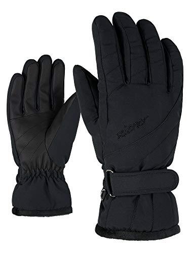 Ziener Damen KILENI PR lady glove Ski-handschuhe/Wintersport, black, 8