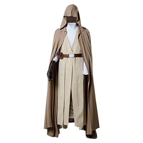 Fuman The Last Jedi Luke Skywalker Outfit Cosplay Kostüm Herren Ver.2 XL