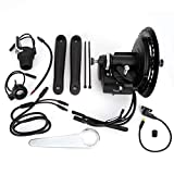 DAUERHAFT Práctico Instrumento de Pantalla de Motor Central, Accesorio de Bicicleta eléctrica, Kit de Conector de Instrumento de Pantalla XH-18, para Bicicleta eléctrica DIY