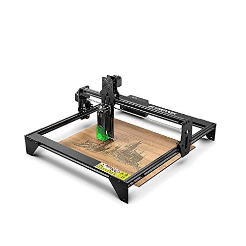ATOMSTACK Graveur Laser, A5 20W machine a graver laser CNC, machine de découpe à gravure laser, à mise au point fixe précise améliorée avec conception de protection des yeux, 410X400mm