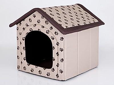 Hobbydog Casa para Perro, tamaño 4, Color Beige con Patas