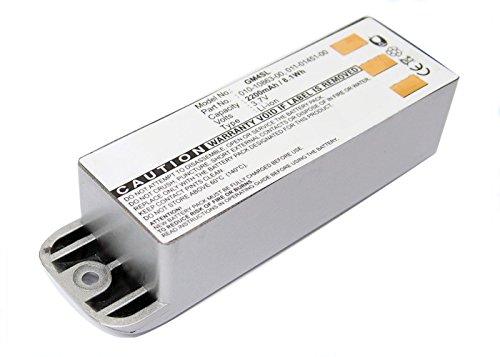 subtel® Batería de Repuesto 010-10863-00, 011-01451-00 Compatible con Garmin Zumo 400 Zumo 450 Zumo 500 Zumo 500 Deluxe Zumo 550, 2200mAh Accu GPS Pila sustitución Battery