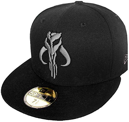 New Era Boba Fett The Mandalorian Star Wars Cap Black 59fifty 5950 Fitted Limited Edition