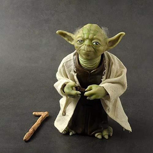 Modelo de simulación de Star Wars Yoda Master Estatua Jedi El Despertar de la Fuerza
