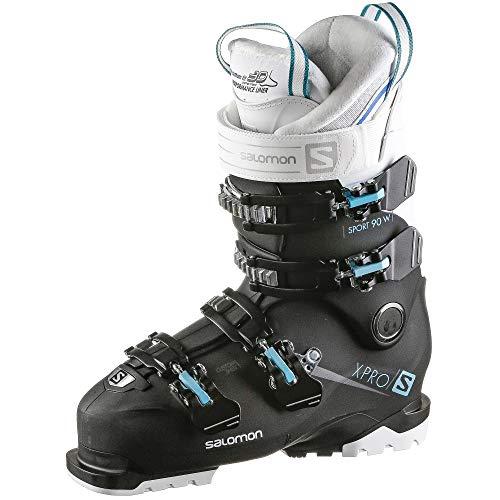 SALOMON Alpinas X Pro 90 W Sport Damen Skischuhe, Schwarz - Schwarze Ameise - Größe: 39.5/40.5 EU