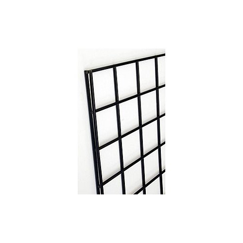 Gridwall Panel Max 54% OFF in Black 2 W x Feet gift H with 6 Mesh Square