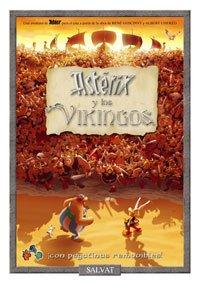 Astérix y los vikingos (libro de pegatinas) (Castellano - Salvat - Comic - Astérix)