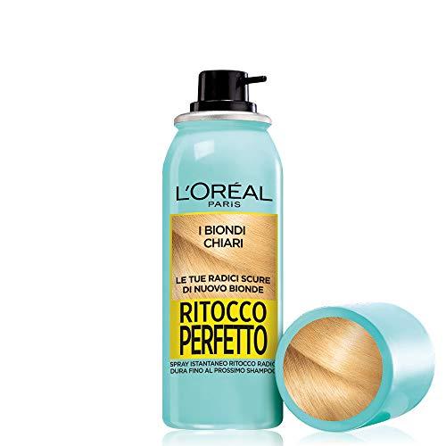 L 'Oréal Paris Perfect instant enhancing spray retouch roots biondo chiaro