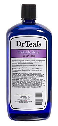 Dr Teal's Foaming Bath with Pure Epsom Salt, Soothe