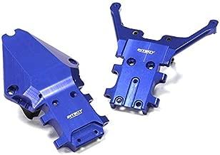 Integy RC Model Hop-ups T8656BLUE Billet Machined Fr. & Rr. Bulkhead for 1/10 Slash 4X4 & Stampede 4X4 (Non-LCG)