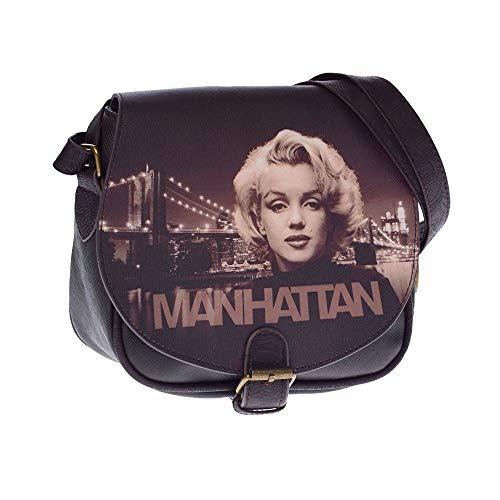 Marilyn Manhattan Umhängetasche Schultertasche Mu
