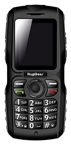 RugGear RG100 Outdoor-Handy ohne Vertrag - Wasserdicht, Staubdicht, Stoßfest, Verstärktes Gehäuse & Bildschirm, Dual-SIM