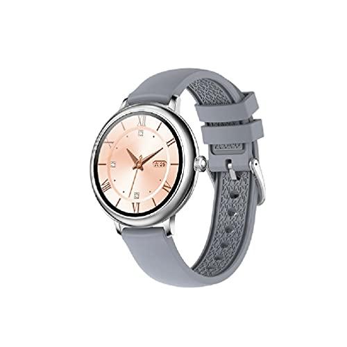 Sweo Reloj inteligente deportivo impermeable IP67 con monitor de ritmo cardíaco y monitor de oxígeno en sangre para mujeres, monitor de frecuencia cardíaca, reloj de repuesto Bluetooth