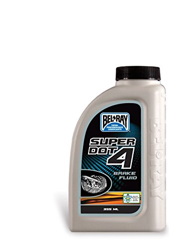 Bel-Ray Super DOT 4 Brake Fluid - 355ml. 99480-B355W by Bel-Ray